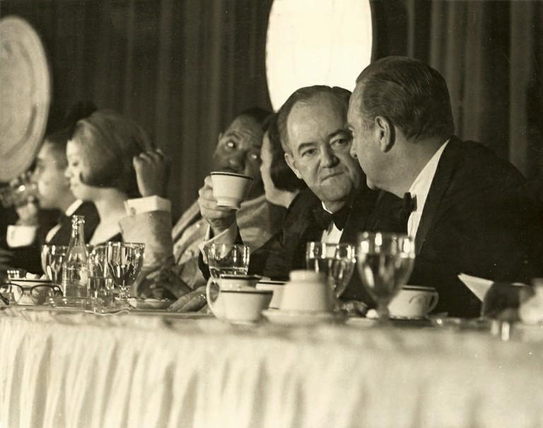 Vice President Hubert Humphrey, Wallace Terry - big