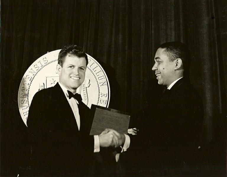 Senator Edward Kennedy - big