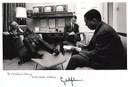 Terry interviews President Lyndon Johnson – 1965 - thumbnail