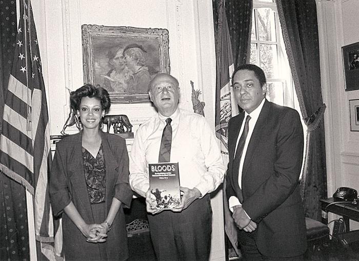 Mayor Ed Koch Mayor of New York - big